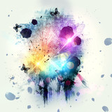 Abstract gothic background