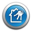 immobilier sur bouton bleu