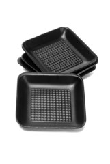 Disposable Black Styrofoam Trays