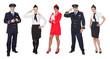 Flight crew members, pilots, stewardesses - 49738045