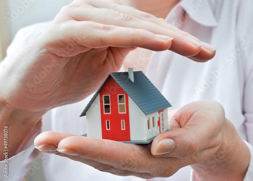 Haus unter Schutz