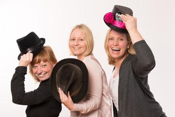Girlspower, Spaß mit Hut
