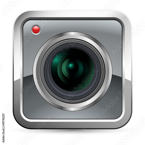 App Button - camera icon