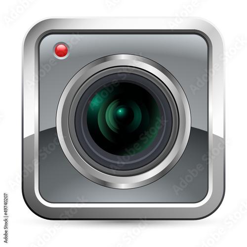 App Button - camera icon
