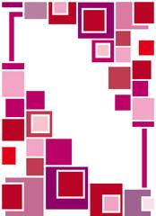 quadrati rosa