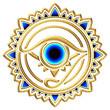 canvas print picture - Nazar - magisches Auge - Schutz Symbol