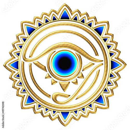 canvas print picture Nazar - magisches Auge - Schutz Symbol