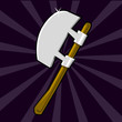 Shining poleaxe icon
