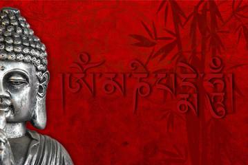 buda y simbolos religiosos