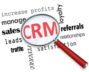 CRM - Magnifying Glass