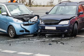 Vorfahrt missachtet - Unfall