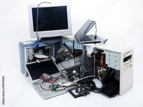 Rohstoff Elektroschrott - 49744419
