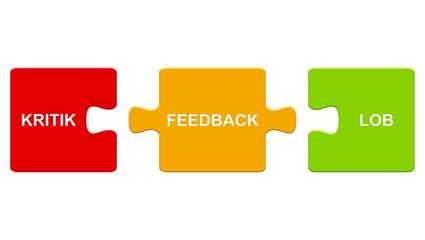 Puzzle: Feedback - Lob und Kritik