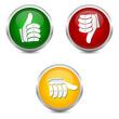 top flop buttons