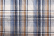 Wrinkled plaid background