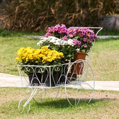 Flower clay pot
