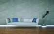 modernes graues Sofa