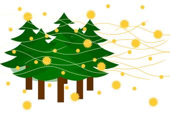 杉の花粉の飛散