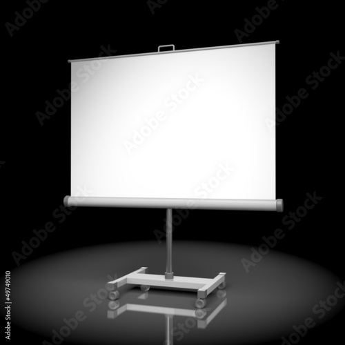 Projection screen or whiteboard