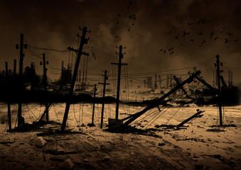 Hintergrund Post Apocalypse