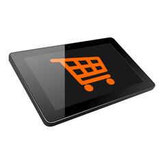 tablet einkaufswagen I