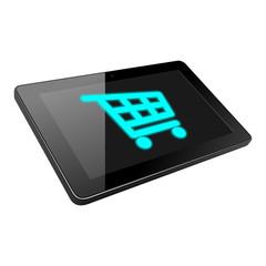 tablet einkaufswagen II