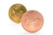 Euromünzen (2 und 10 Cent)