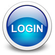 LOGIN, vector button blue