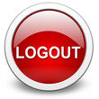 LOGOUT, vektor button