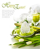 Fototapety Place Setting for Easter