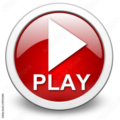 PLAY, vector button