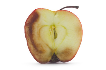 decay of apple