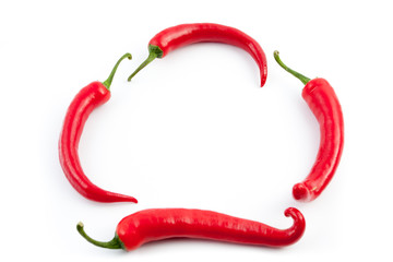 four chilies frame