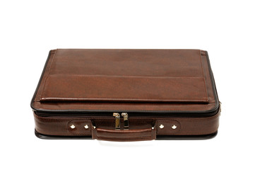 briefcase isolated on white background