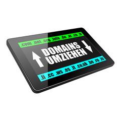 tablet domains umziehen I