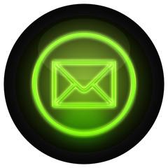 Button E-Mail Grün