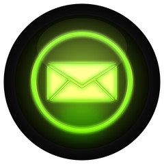 Button Mail Grün
