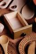 utensili da cucina in legno - cassetto