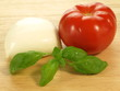 Preparation of caprese salad