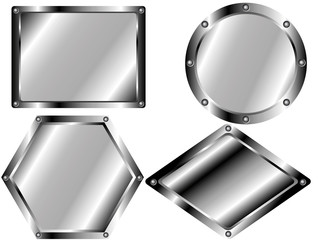 A set of metal plates 2