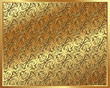 Gold background with a pattern