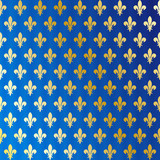 Fototapety Fleurs de lys - wallpaper