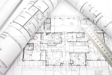 House plan blueprints