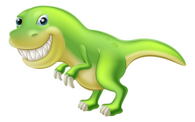 T Rex Cartoon Dinosaur