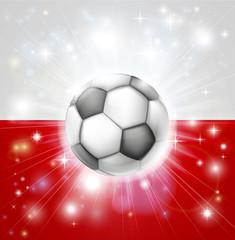 Poland soccer flag