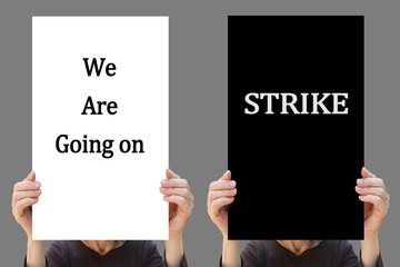 We are Going on STRIKE