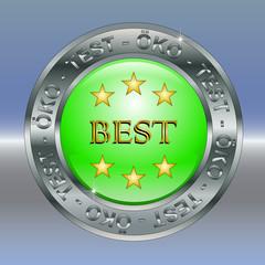 Teststempel Best Sterne