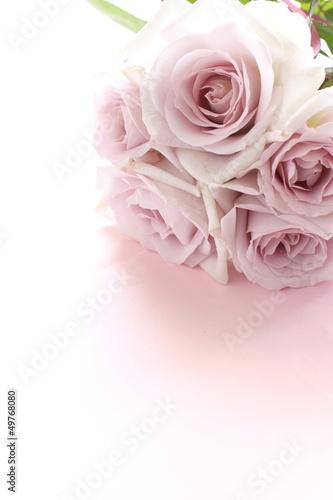 elegant pastel purple roses bouquet for background image
