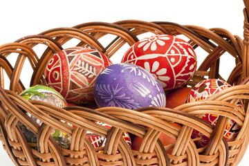 basket full of Ester Eggs
