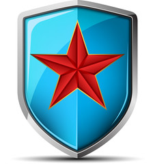 Red Star Shield